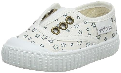 Victoria Ingles Elástico Estrellas, Zapatillas Unisex Bebé: Amazon.es: Zapatos y complementos