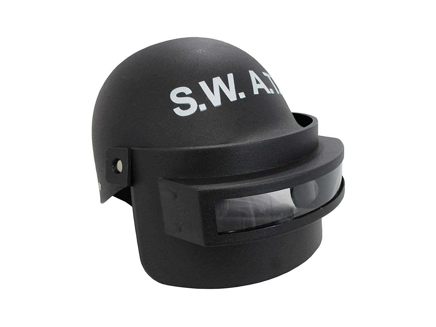Adult S.W.A.T. Helmet with Folding Face Mask Costume Accessory