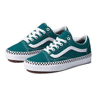 1c0fbc82af Vans Check Foxing Old Skool Skate Shoe
