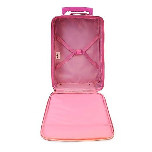 Karactermania Frozen Zipper Equipaje Infantil, 46 cm, 26 litros, Rosa: Amazon.es: Equipaje