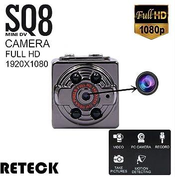 SQ8 Mini DV Camera 1080P Full HD Car Sports IR Night Vision DVR Video Recorder