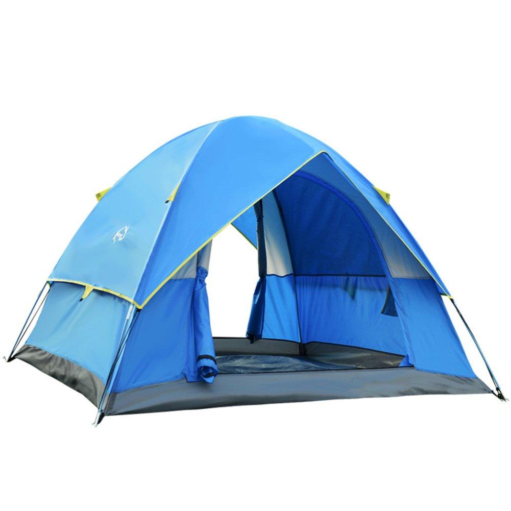 Outdoor-Doppel Doppel Zelt 3-4 Herrenchlichen Regenschutz für camping