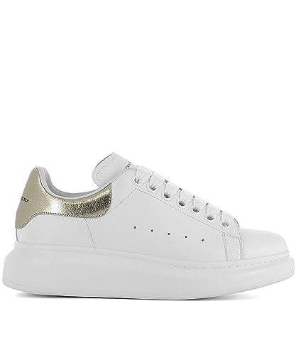 Alexander McQueen Women's 462214Whfbu9075 White Leather ...