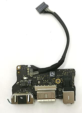 "New DC-IN Jack I//O Board fit for Apple MacBook Air 13/"" A1466 820-3455-A 923-0439"