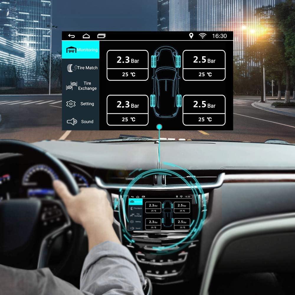 Monitor Del Sistema Tpms Android Neumáticos Usb De Presión Para Android Dvd De La Radio De Coche Gps Multimedia Tpms Sensor Jugador Amazon Es Coche Y Moto