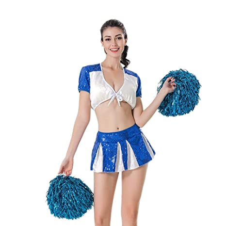 7c91d77275b Amazon.com : Xcfypiao Cheerleader Fancy Dress, Girls Cheerleading ...