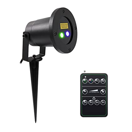 Laser Christmas Lights SeresRoad Blueu0026Green Outdoor Laser projection Light with Wireless Control IP65 Waterproof Landscape  sc 1 st  Amazon.com & Amazon.com: Laser Christmas Lights SeresRoad Blueu0026Green Outdoor ...