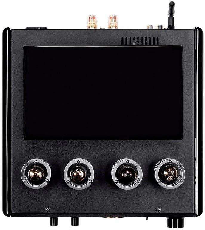 EU Monoprice 50 Watt Stereo Hybrid Tube Amplifier with Bluetooth /& Line Output