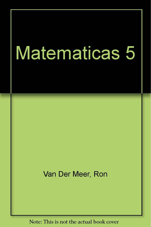 As De Las Matemáticas 5+: Amazon.es: Van Der Meer, Ron: Libros
