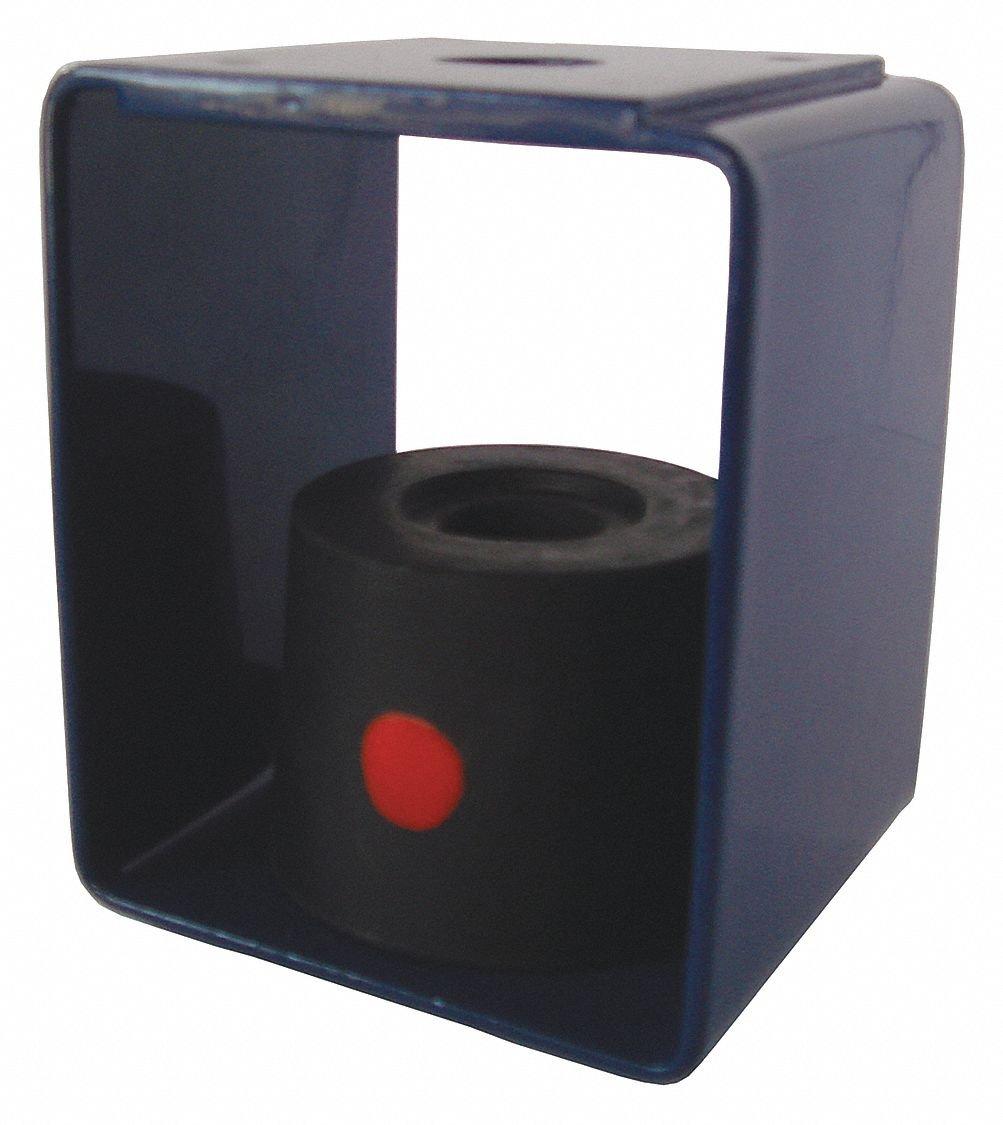Hanger Mount Vibration Isolator, Neoprene Isolator Type, 60 to 125 lb. Capacity Range