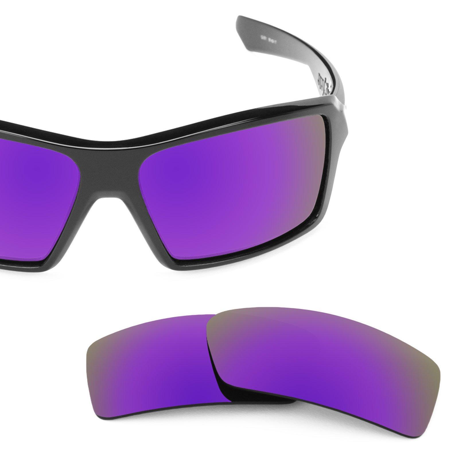 Revant Polarized Replacement Lenses for Oakley Eyepatch 1 Plasma Purple MirrorShield