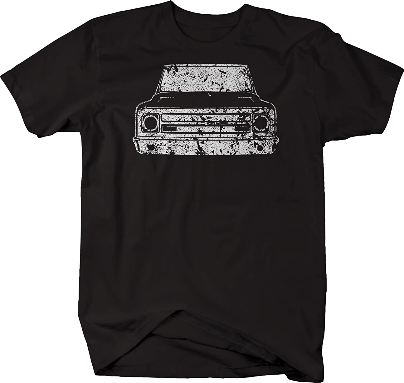 Gear Distressed 1967 72 Chevy Gmc Classic Lowered Truck C10 C20 Shirts