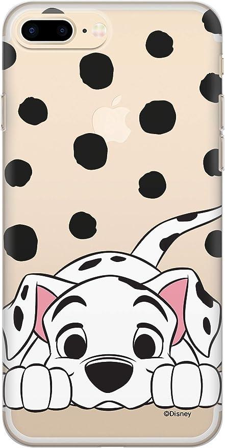 ERT DPCDAL3126 Coque pour iPhone 7/8 Motif Dalmatien Transparent