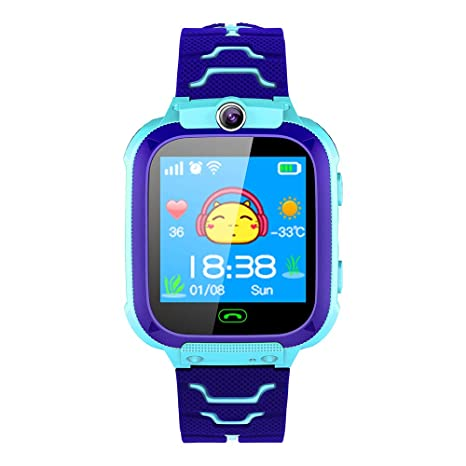Amazon.com: LARRY-X - Reloj inteligente para niños con GPS ...