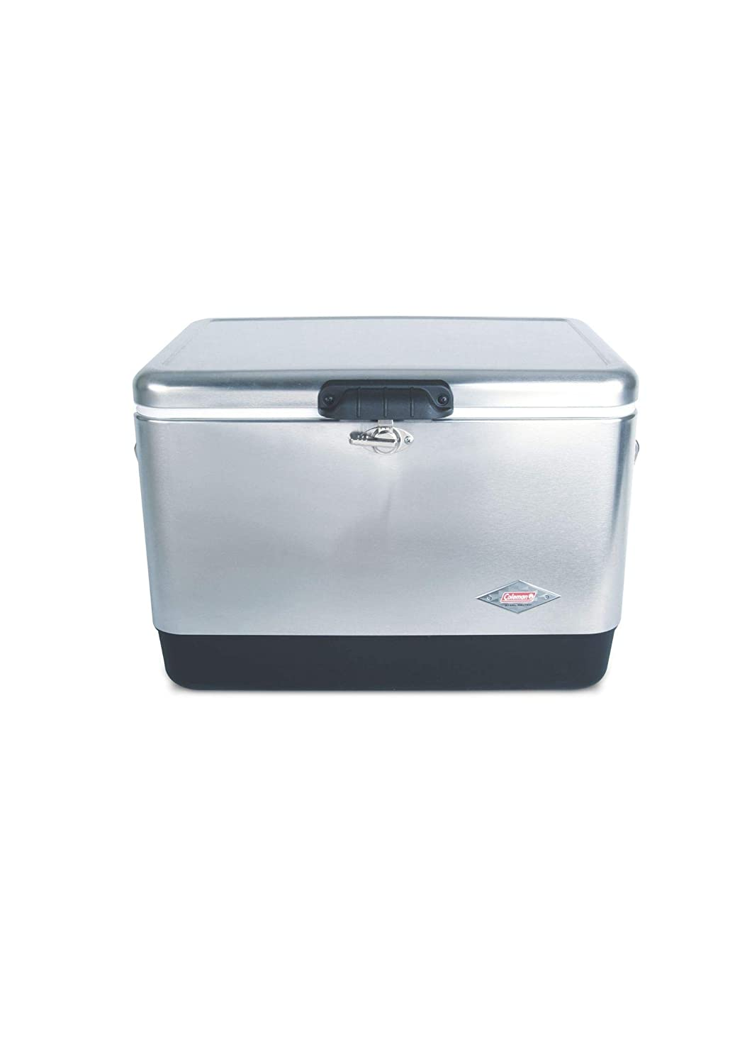 Steel-belted portable cooler 54qt