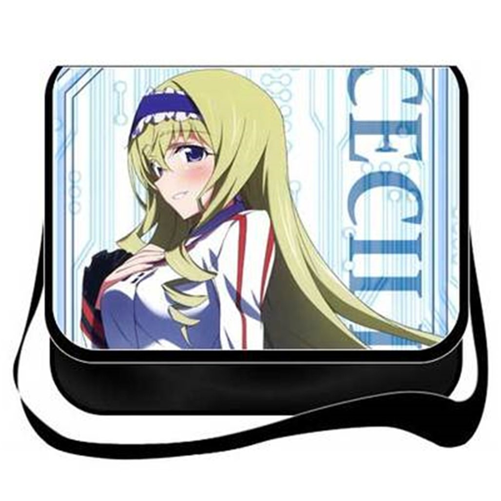 Gumstyle Infinite Stratos Anime Cosplay Handbag Messenger Bag Shoulder School Bags