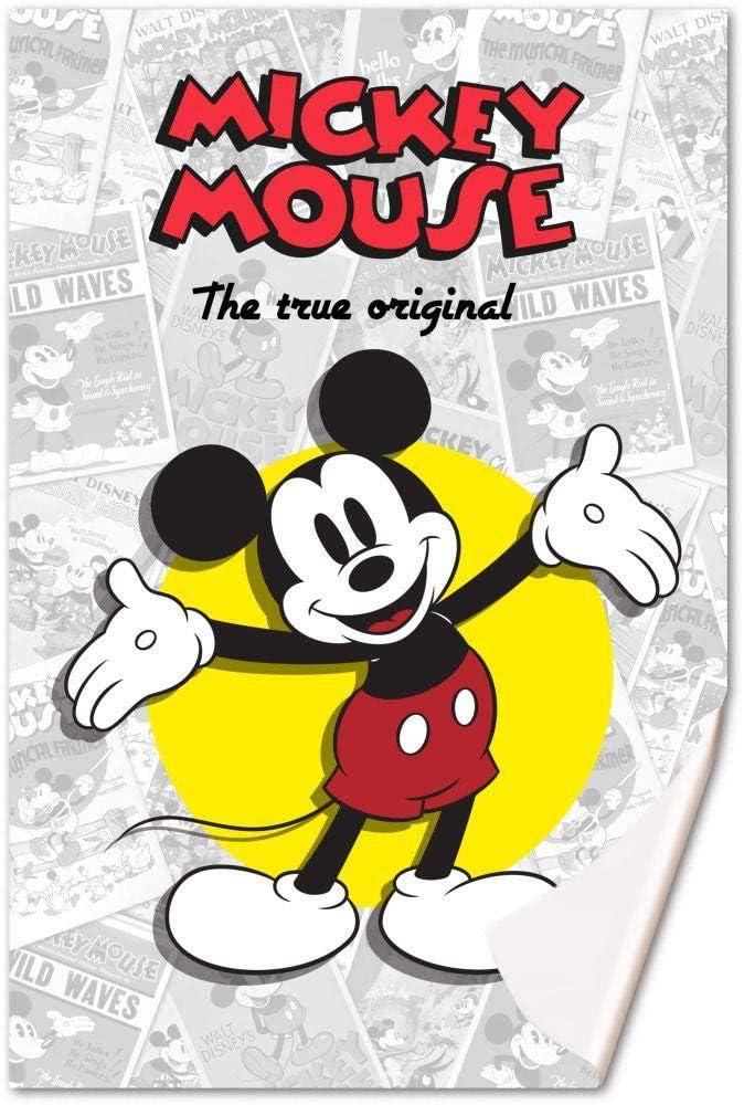 Mickey Mouse Manta Polar 150x100cm de Mickey Classic, Multicolor, 150x100