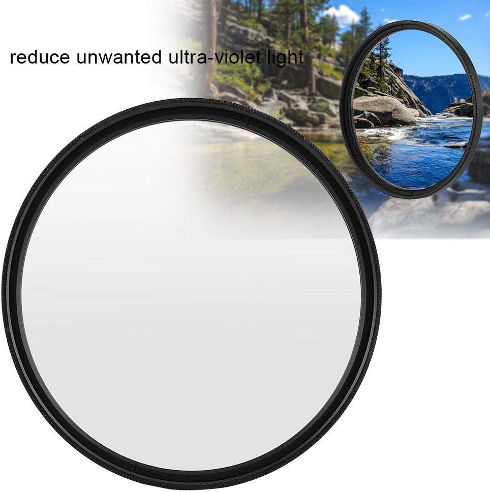 82mm//3.23in Serounder Universal Ultra Slim UV Filter Lens Protection Filters for Canon//Nikon//Sony DSLR Cameras