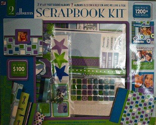 (Westrim Crafts 2 Album Scrapbook Kit)