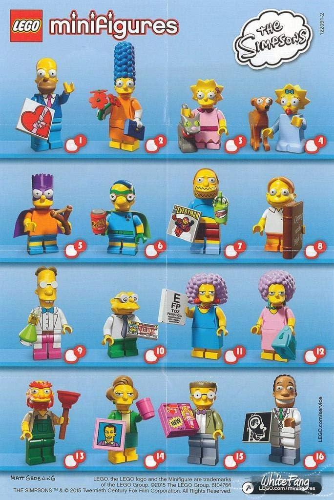 Lego Simpsons Series 2 Figure 71009 Bart Simpson As Bartman