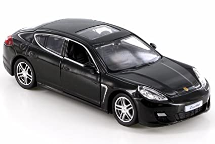 RMZ City Porsche Panamera Turbo, Black 555002 - Diecast Model Toy Car but NO BOX