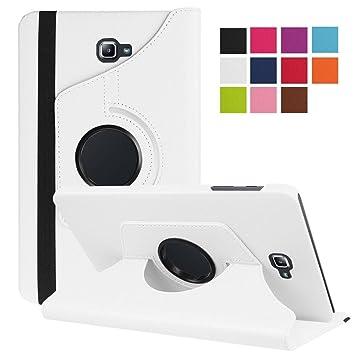 DETUOSI Funda Compatible con Tablet Galaxy Tab A6 10.1, Fundas Cubierta de PU Cuero Protectora Carcasa con Stand Función para Galaxy Tab A 10.1