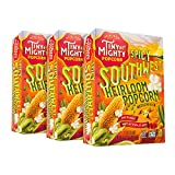 SPICY SOUTHWEST Tiny But Mighty Heirloom Popcorn meets the zesty, bold flavors of the Southwest. A custom blend of spices creates this truly distinctive, extraordinary flavor with a hint of heat. It wont get stuck in your teeth, which youll b...