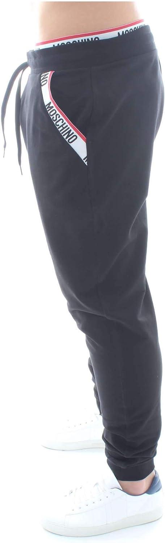 Moschino Underwear A 4208 8127 Pantalones de chándal Hombre Negro ...