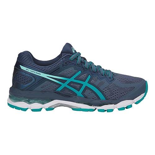 27af1a3599f1 ASICS GelSuperion Shoe Women s Running 5 Smoke Blue-Lake Blue-Aruba Blue