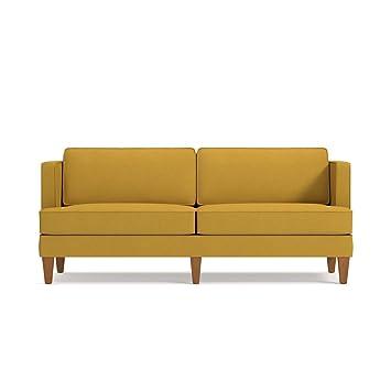 Amazon.com: Astor sofá de Kyle schuneman, Tela, Mostaza ...