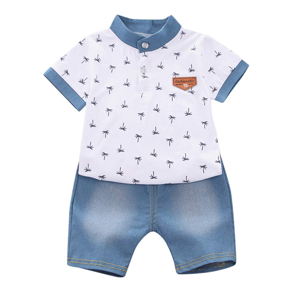 erthome Toddler Kids - Conjunto de Camiseta de Manga Corta para ...