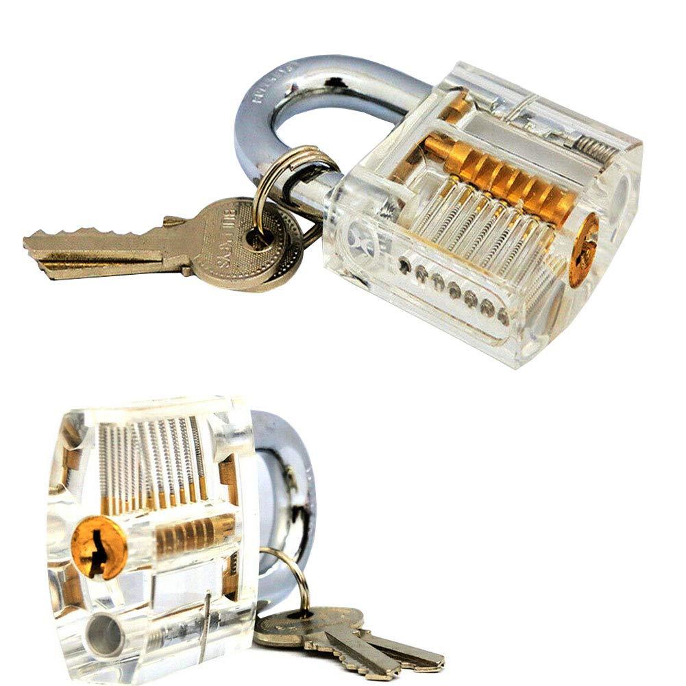 Lock Key Extractor Cutaway Cadenas dexercices Transparent