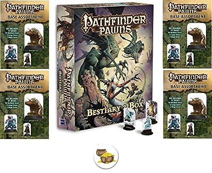Amazon com: BUNDLE of Pathfinder Bestiary 2 Pawns Box and 4