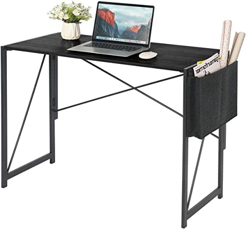 Small Simple Folding Writing Computer Desk 39''