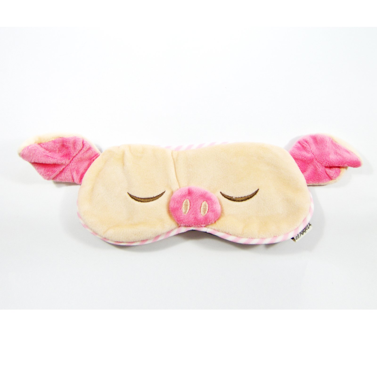 Eye Mask Shades Blindfold Sleeping Warm Cold Gel Pack Travel Comfortable Night's Bestever (Pig)