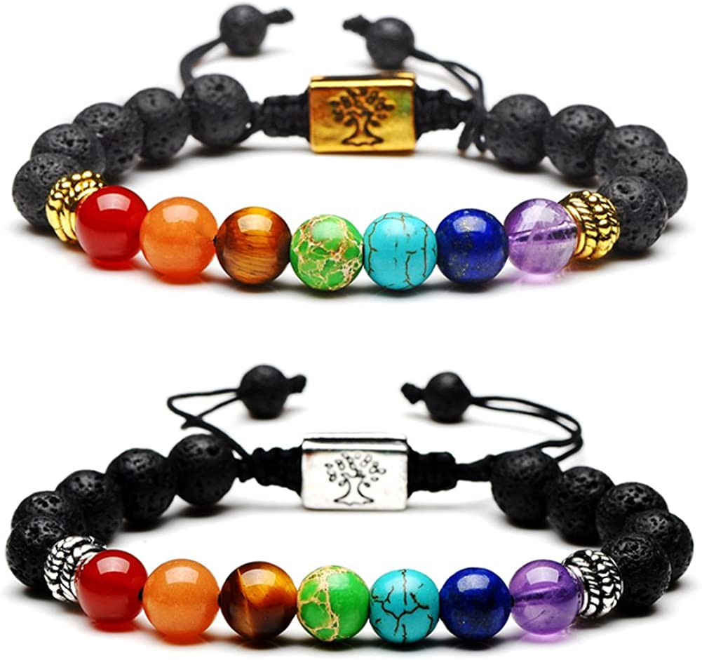 The Circe Chakra Wrap Bracelet for Energy Healing