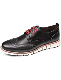 Laoks Men S Brogues Leather Shoes