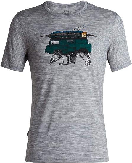 NEW WITH TAGS! ICEBREAKER Women/'s 100/% Merino Wool Tech Lite Crew T Shirt