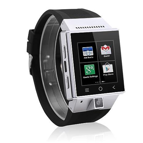 Excelvan S55 - Smartwatch Reloj Móvil Teléfono 3G Android (Dual Core, 2.0Mp Cámara