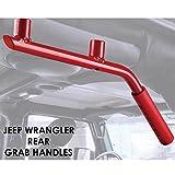 Xprite 2007-2018 Jeep Wrangler JK Rear (Back) Red