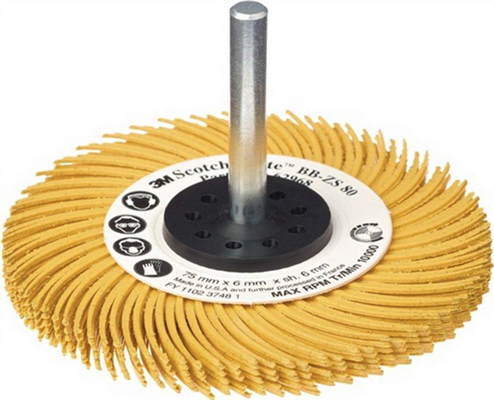 Radialbü rstenscheibe Bristle Brush K.80 ohne Spannschaft NoName