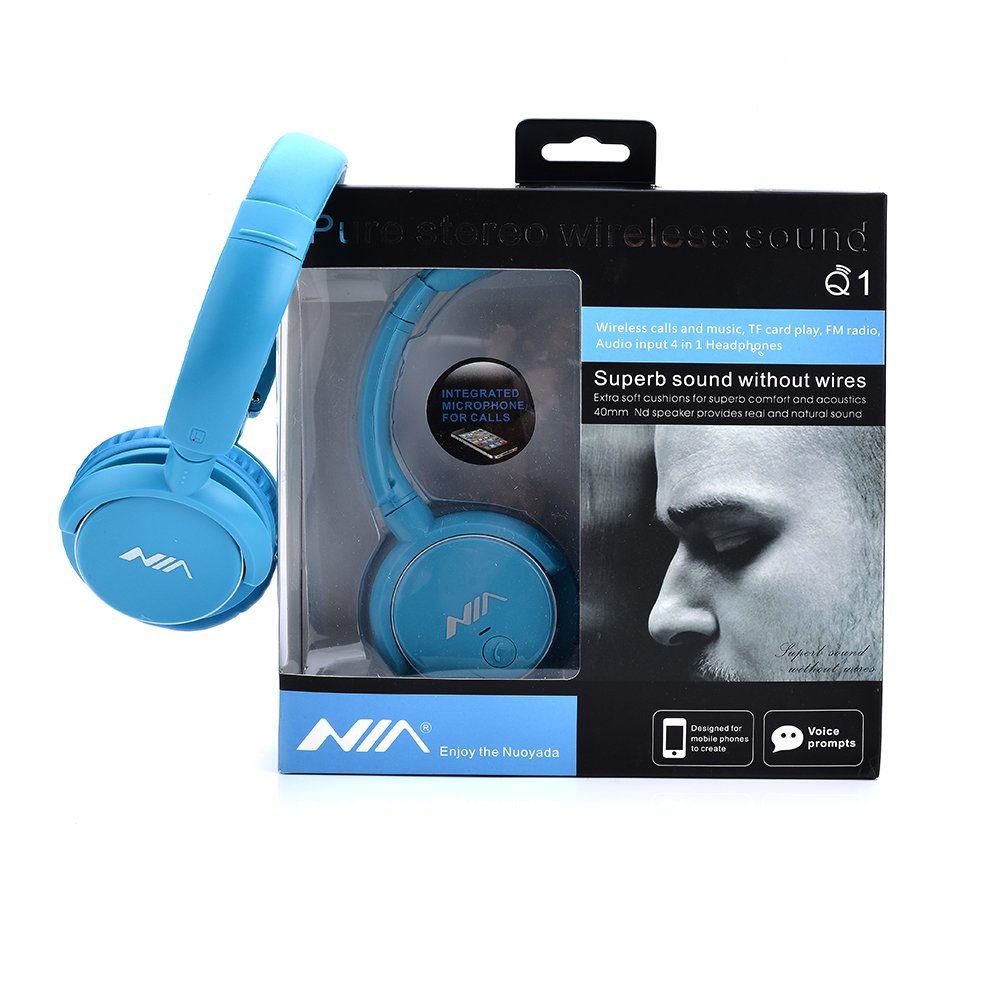Amazon.com: Kingtu Bluetooth Headphones, Wireless Over-ear Portable ...