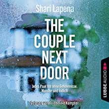 The Couple Next Door Audiobook by Shari Lapena Narrated by Friederike Kempter