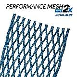StringKing (1-Pack) Lacrosse Performance Mesh Type 2X Royal Blue STK-Type-2X-RylBlu-1P