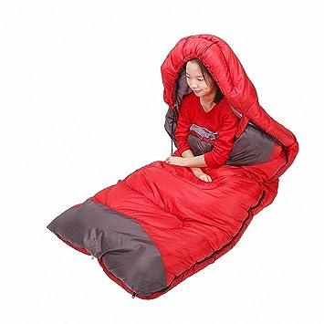 SUHAGN Saco de dormir Bolsa De Dormir Al Aire Libre Para Adultos Camping Camping En La