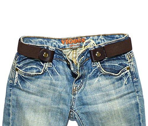Fashion Belt Buckle - FreeBelts - Buckle-Free Easy Comfortable Belt. No Bulge, No Hassle. Unisex.