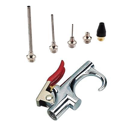 FLAMEER Kit De Pistola De Aire Comprimido Compresor De Aire Boquilla Punta Inflador Soplador Aire UpTip