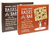 Trader Joe's Raises the Bar Gluten Free Chewy Granola Bars Variety Bundle: 2 Boxes – 1 Maple, 1 Dark Chocolate Chunk For Sale