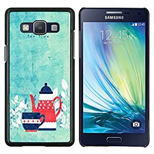 Dragon Case - FOR Samsung Galaxy A5 A5000 A5009 - tea time - Caja protectora de pl??stico duro de la cubierta Dise?¡Ào Slim Fit