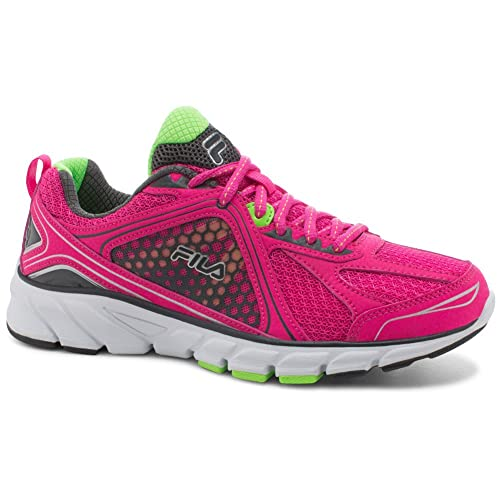 e70f7ee9eaa8b Fila Women's Threshold 3 Running Sneakers, Pink Mesh, EVA, Rubber ...